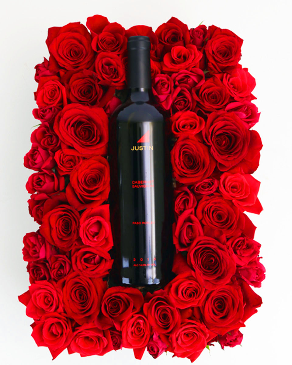Justin Cabernet on a Bed of Roses