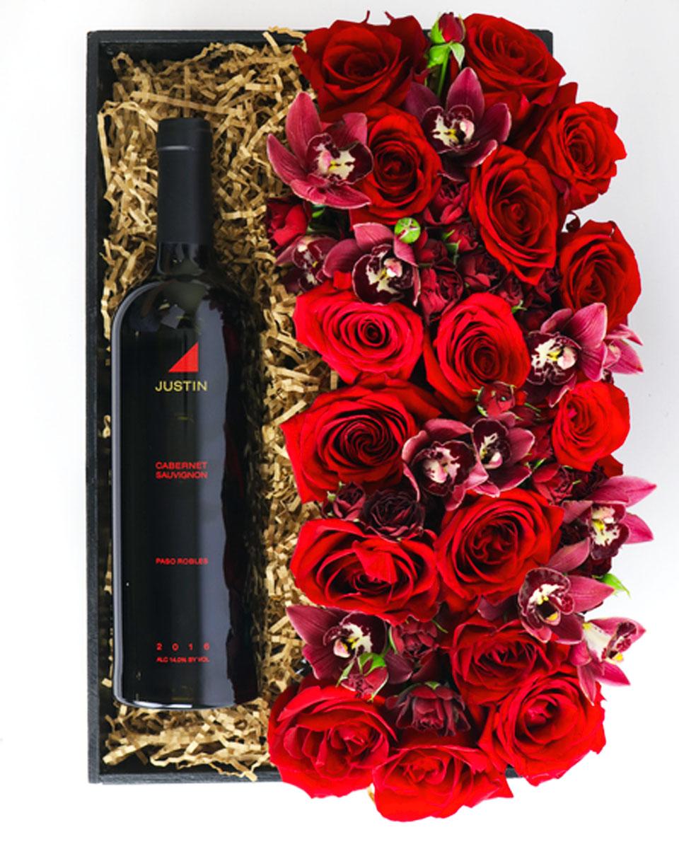 With Dom Perignon Champagne