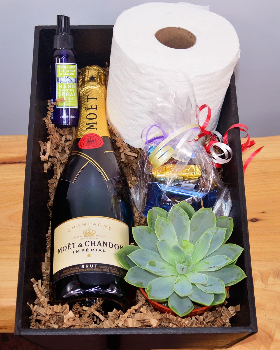 With Moet & Chandon  Champagne