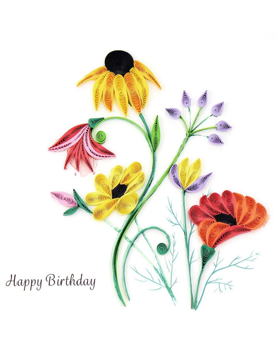 Birthday Wildflower Blooms