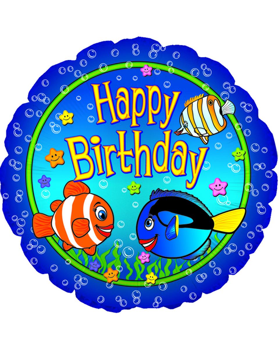 Big Fish Birthday Mylar