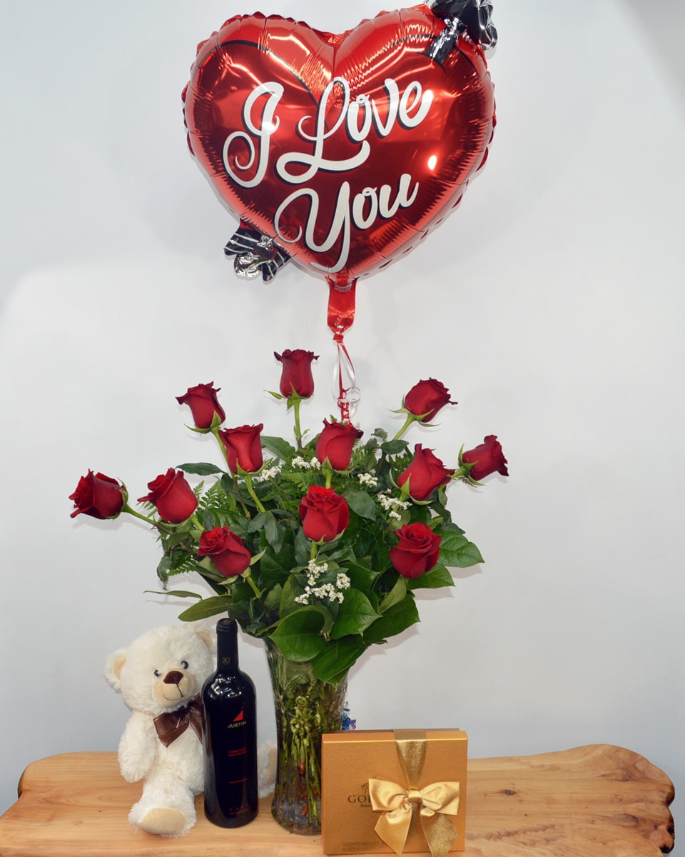 with 12 Roses