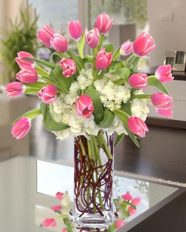 Burst of Tulips-Standard