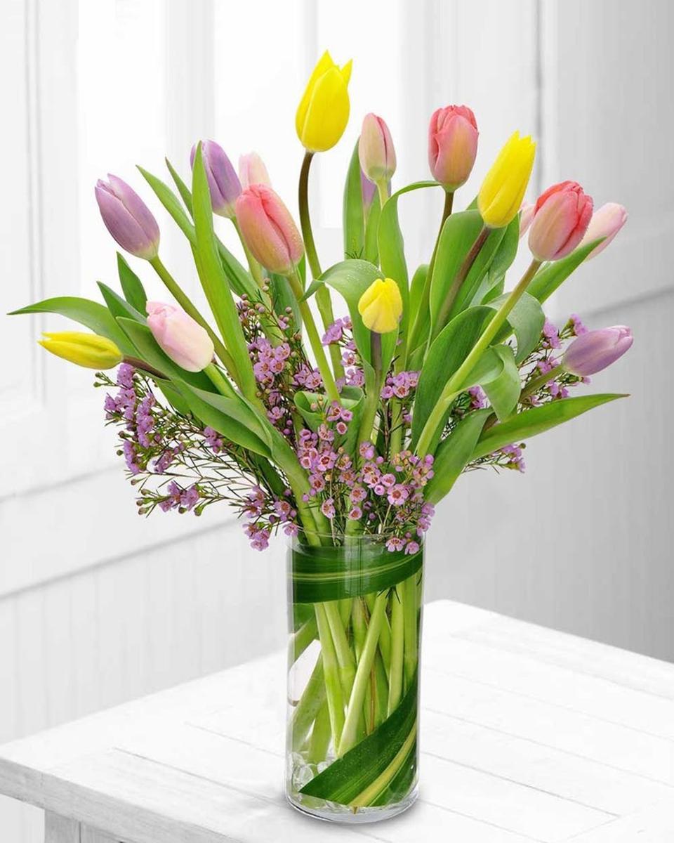 Standard (15 Mixed Tulips)