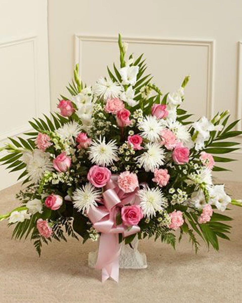 Soft and Elegant Sympathy Basket-Deluxe