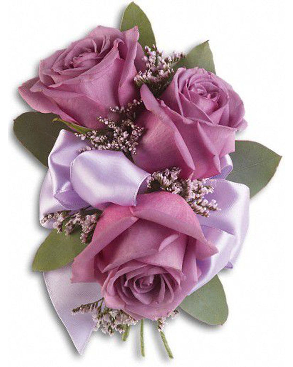 With 3 Purple Roses-Standard