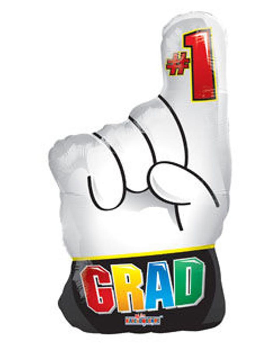 Number 1 Grad Mylar