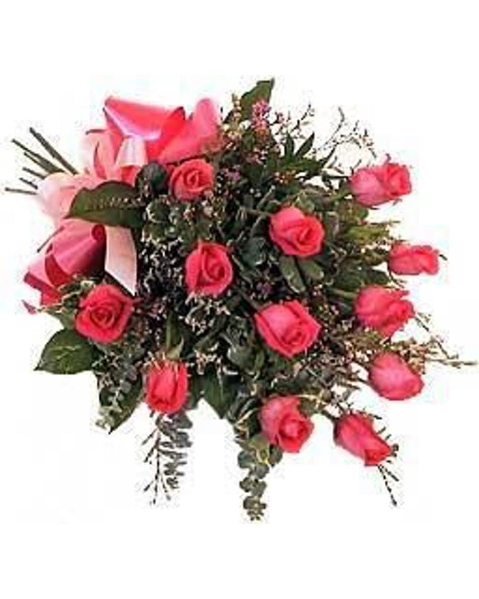 13 Pink Roses-Standard