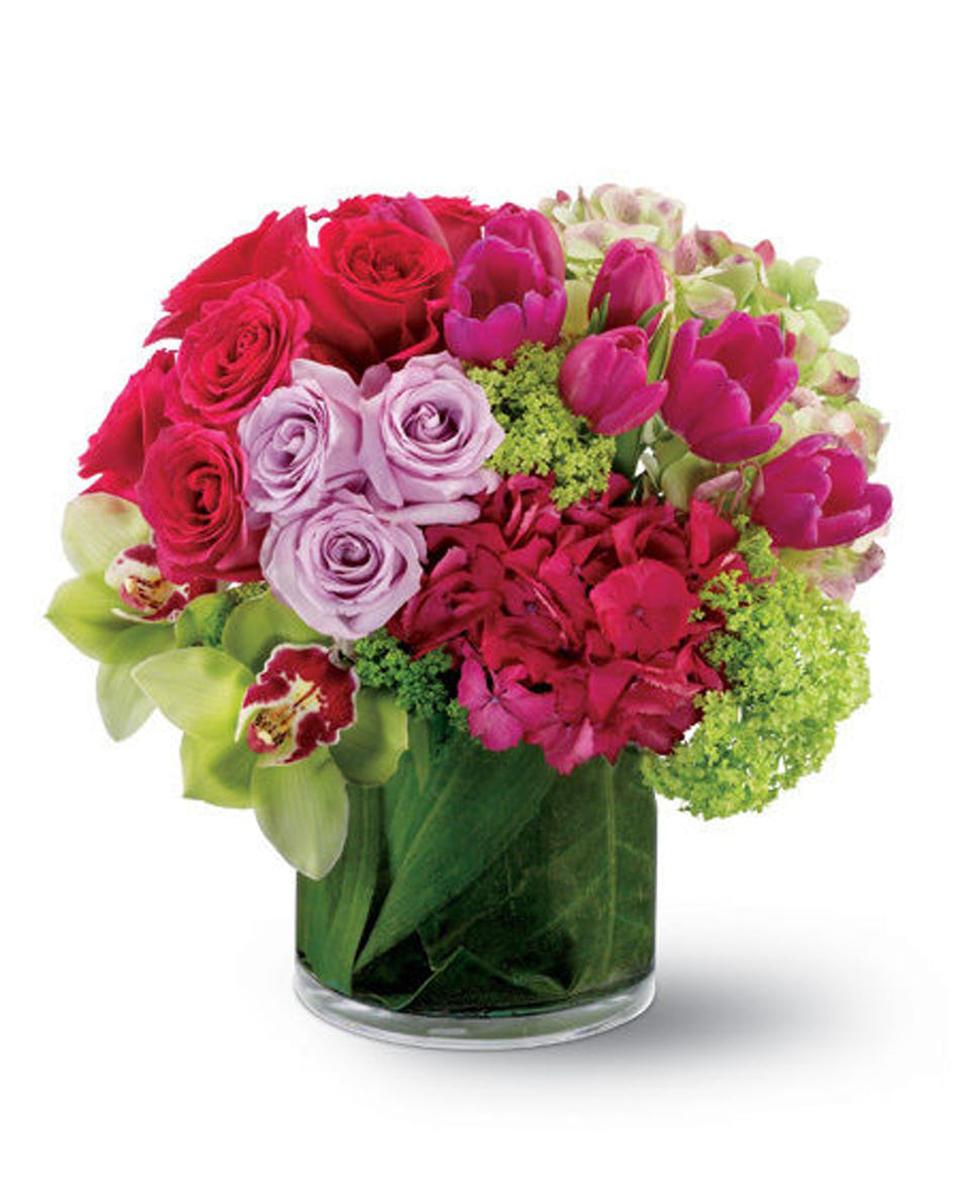 Floral Fantasia-Standard (6 x 6 in Cylinder)