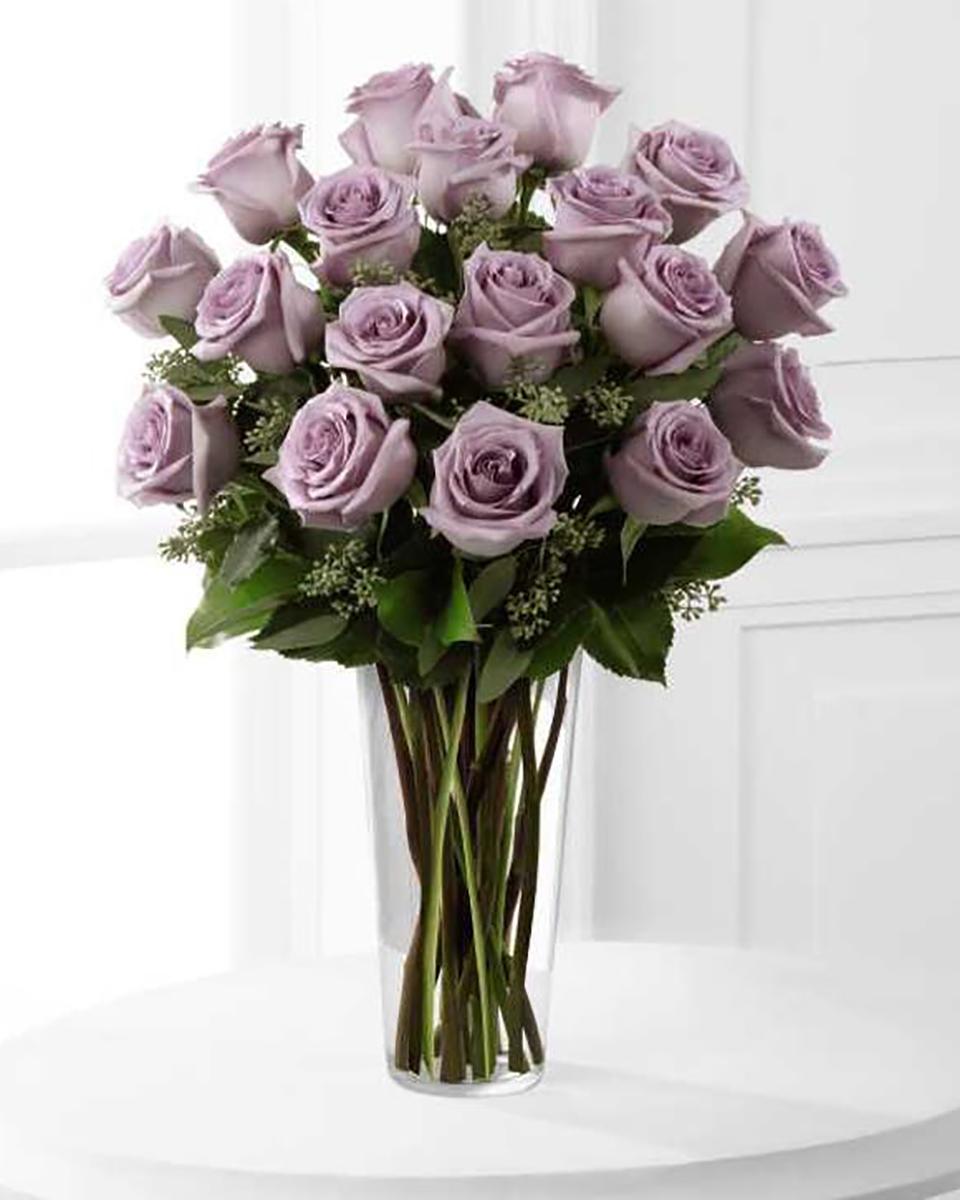 24 Purple Roses-Deluxe