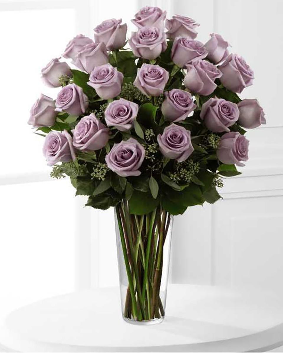 36 Purple Roses-Premium