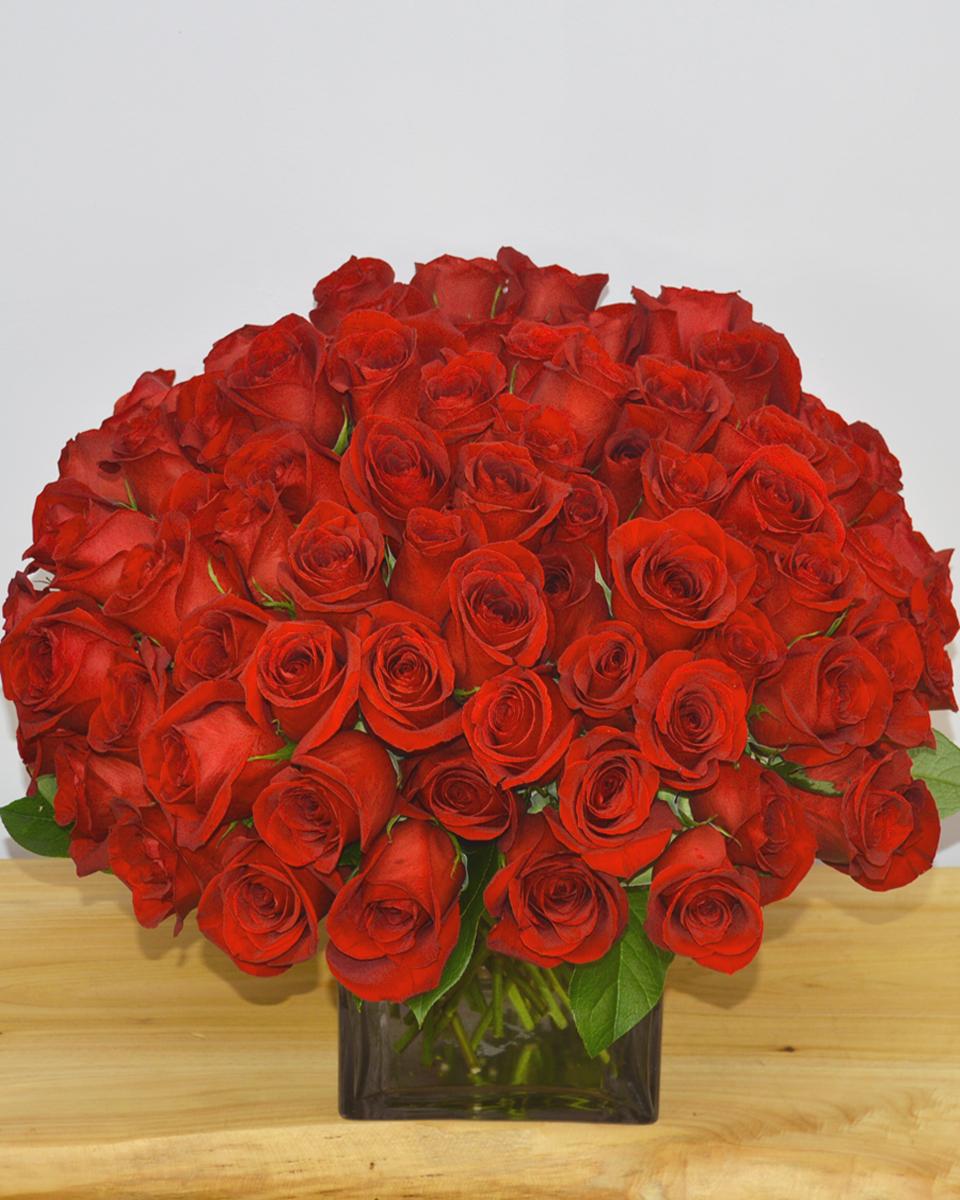 100 Rose Cluster