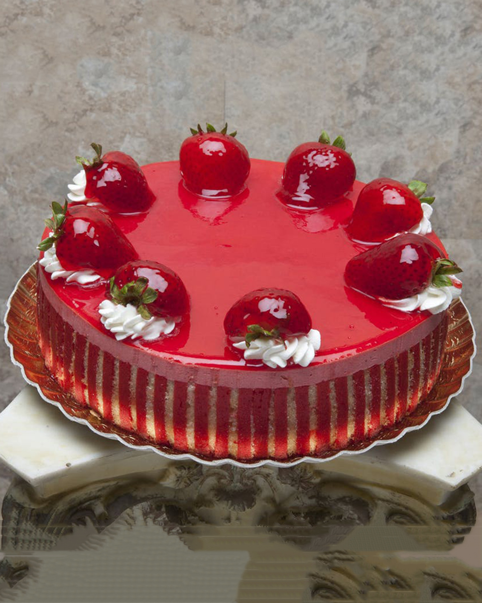 Strawberry Mousse Cake-Standard (8 inch)