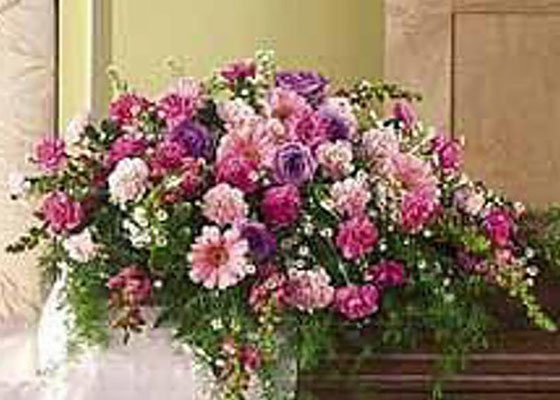 Funeral Flowers Pink