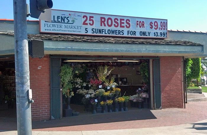 Allen Flower Market Store