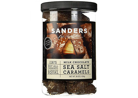 Sander's Sea Salt Caramels