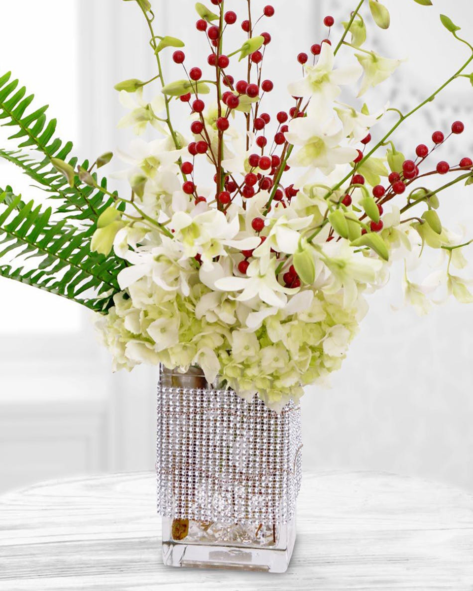 Holiday Orchid Bling-Standard