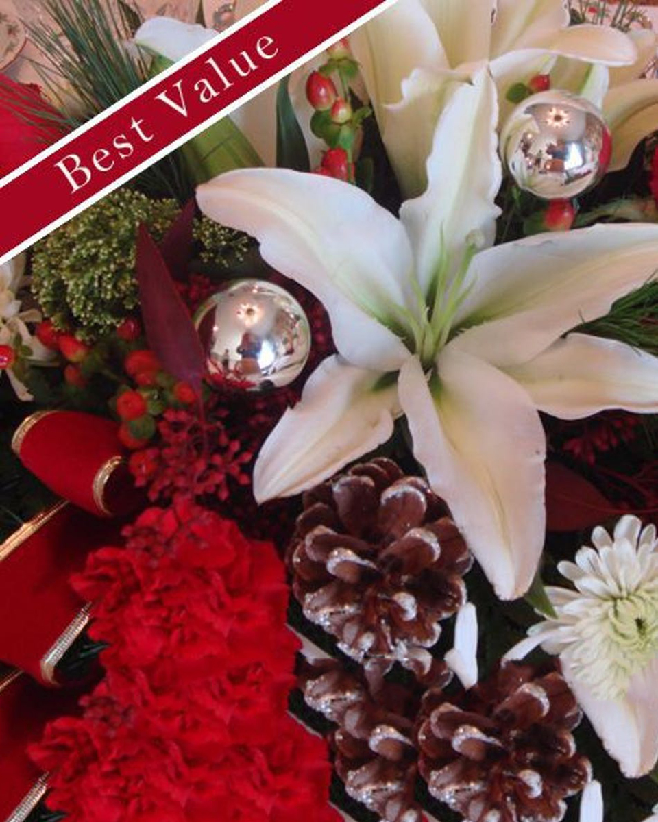 Mixed Holiday Bouquet-Standard