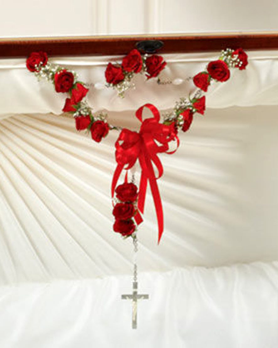 18 Red Rose Rosary-Standard