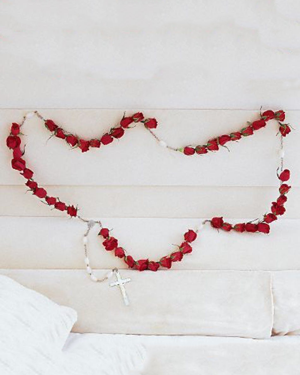 50 Red Rose Rosary
