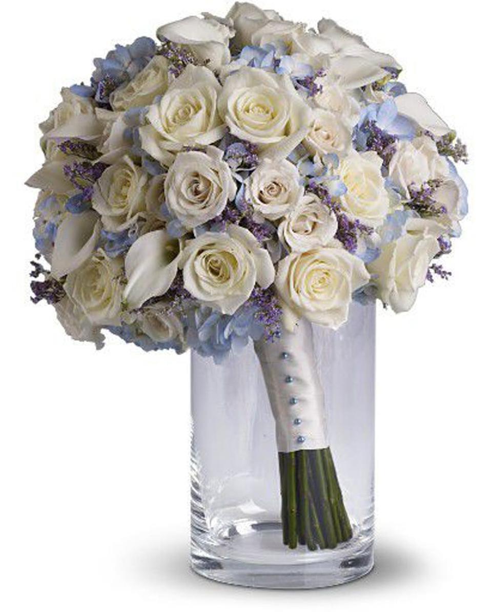 Forever White Roses-Standard