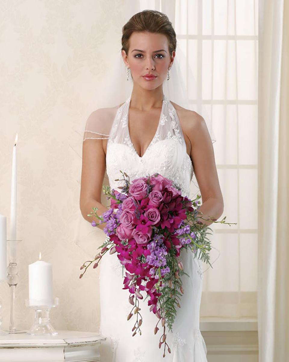 Lavender and Purple Bridal Bouquet-Standard