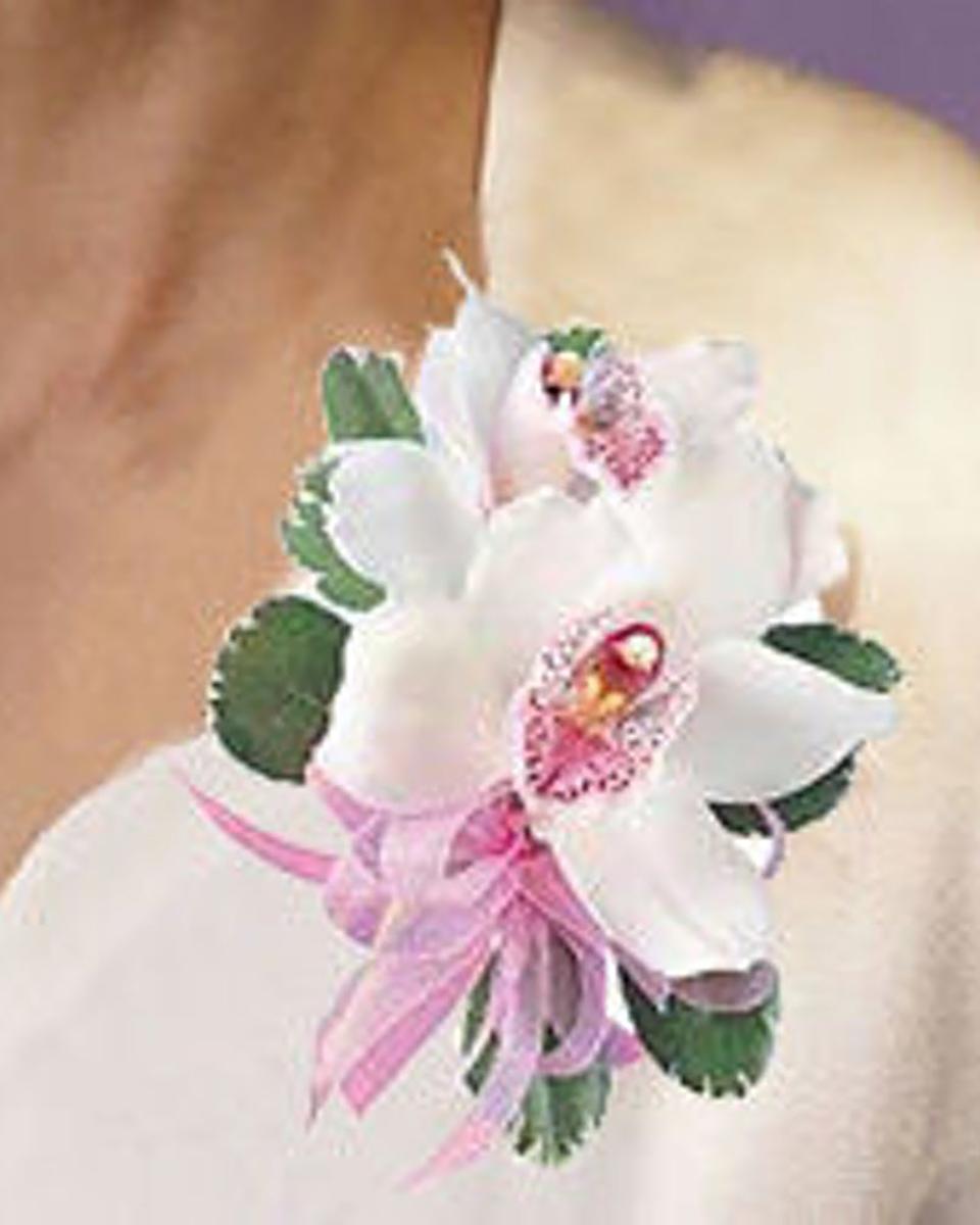 Cymbidium Orchid Corsage-Standard