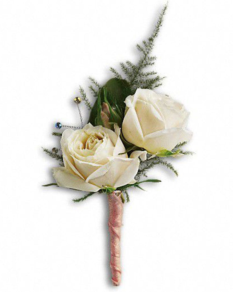 Double White Rose Bout-Standard