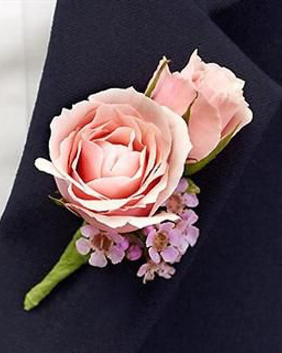 Pink Spray Rose Bout-Standard