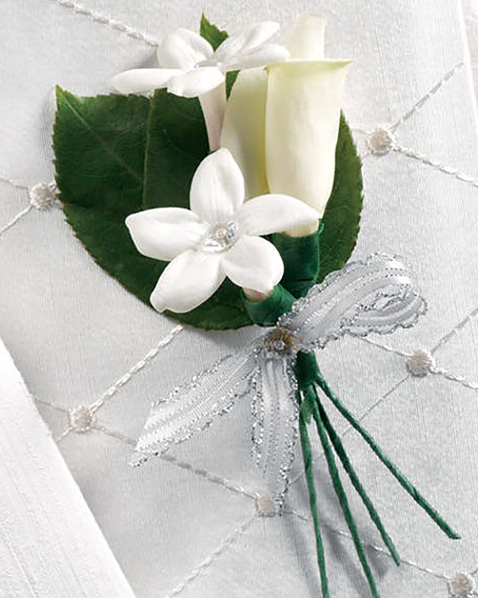 White Calla Bout-Standard