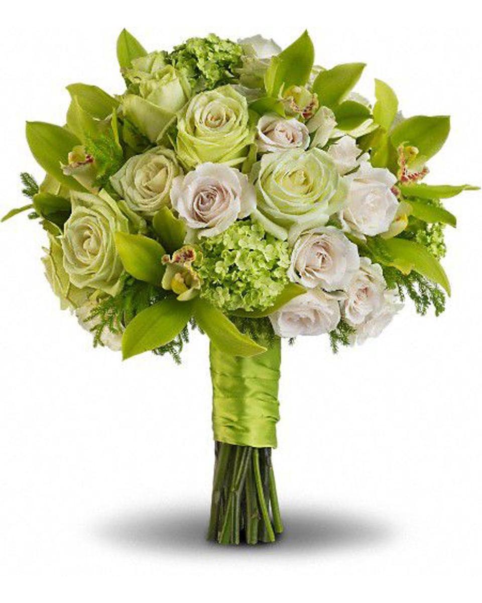 Lucky Green Bridal Bouquet-Standard