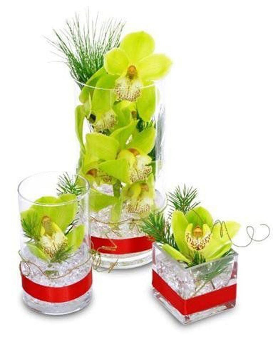 Orchid Vase Trio-Standard