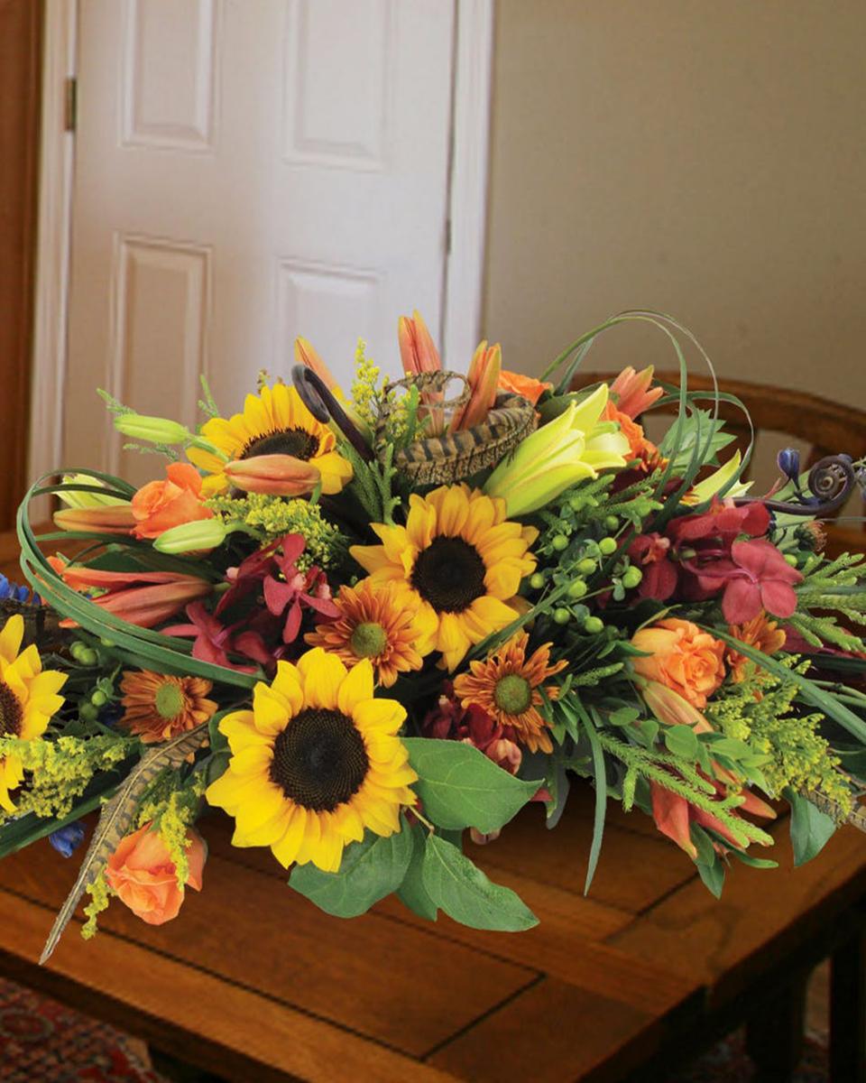 Floral Autumn Feast-Standard