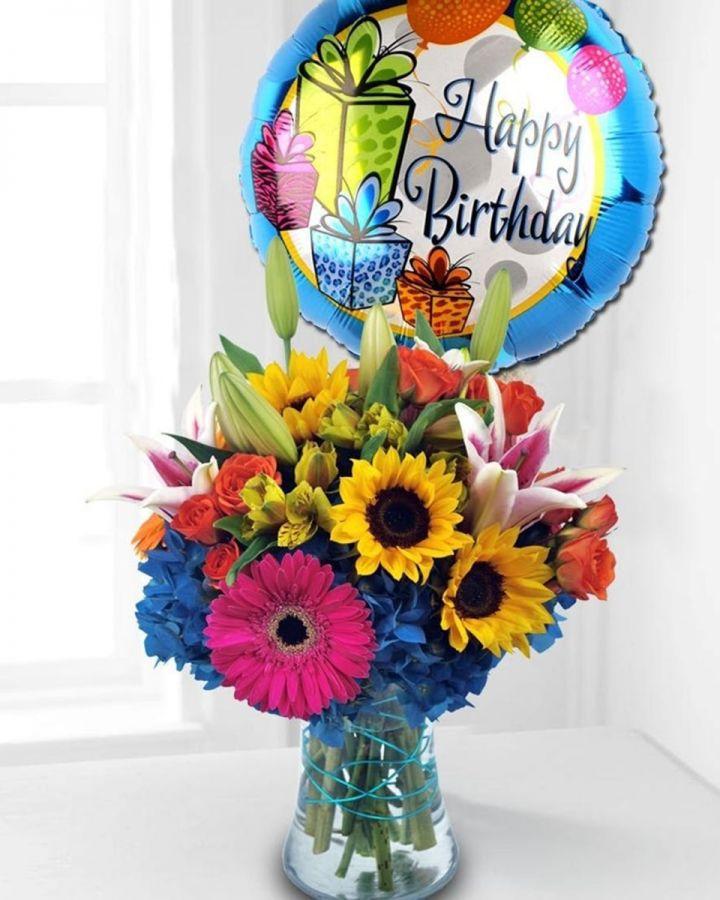 The Best Flowers for Birthdays